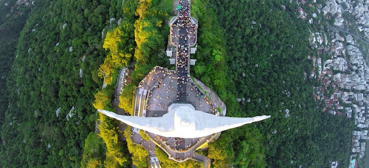 Статуя Христа Спасителя, Рио-де-Жанейро, Бразилия