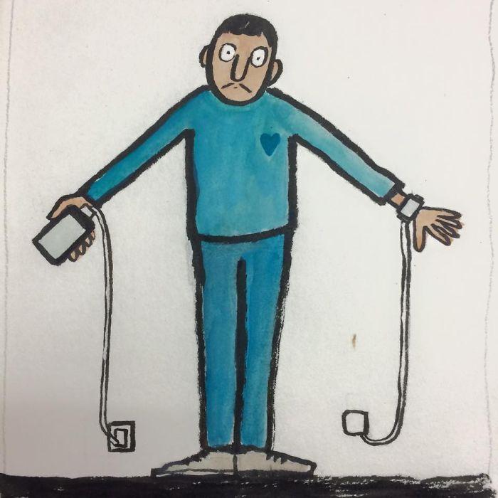 Саркастические иллюстрации от Жана Жюльена