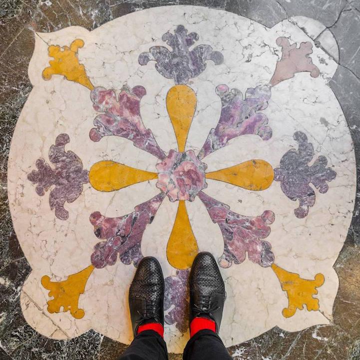 Роскошные полы Венеции от Себастьяна Эрраса