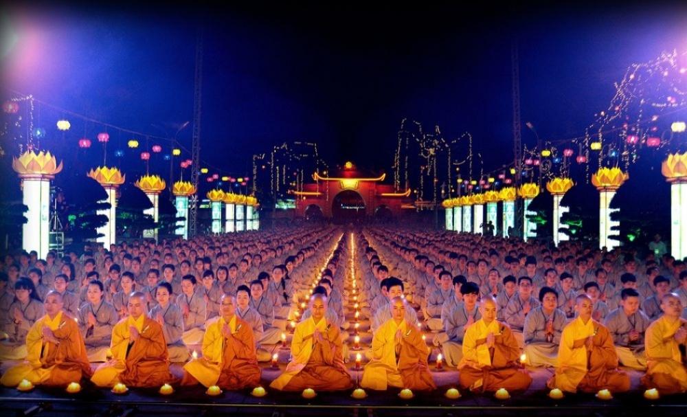 День Будды Амитабхи,Вьетнам