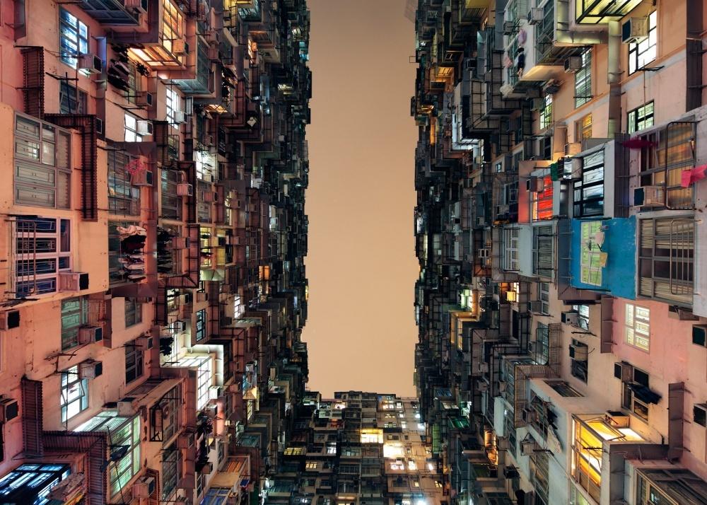 Жилой район в Гонконге