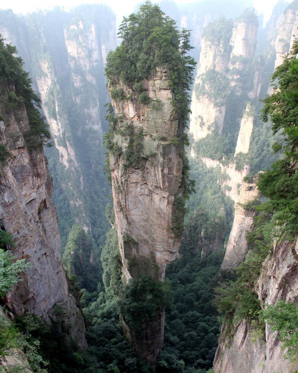 Горы Тианзи, Китай