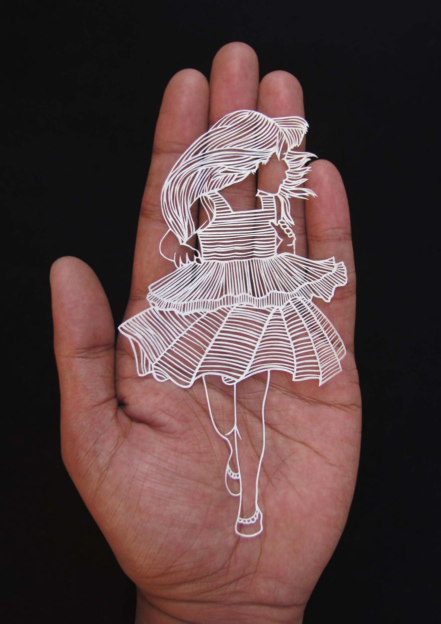 Вырезание из бумаги от Парфа Корфекара