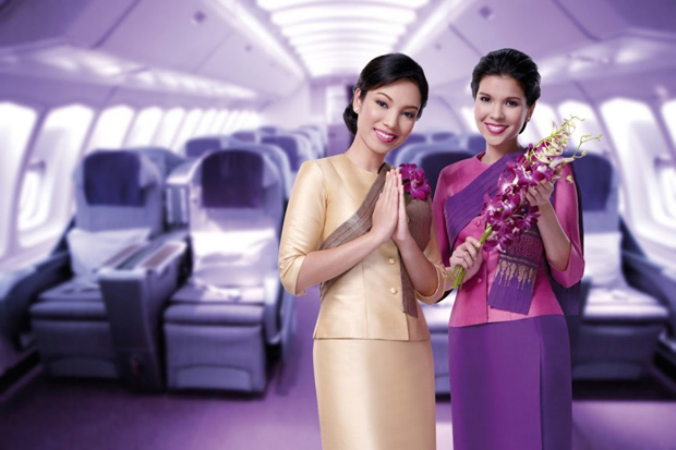 Униформа стюардесс Thai Airways