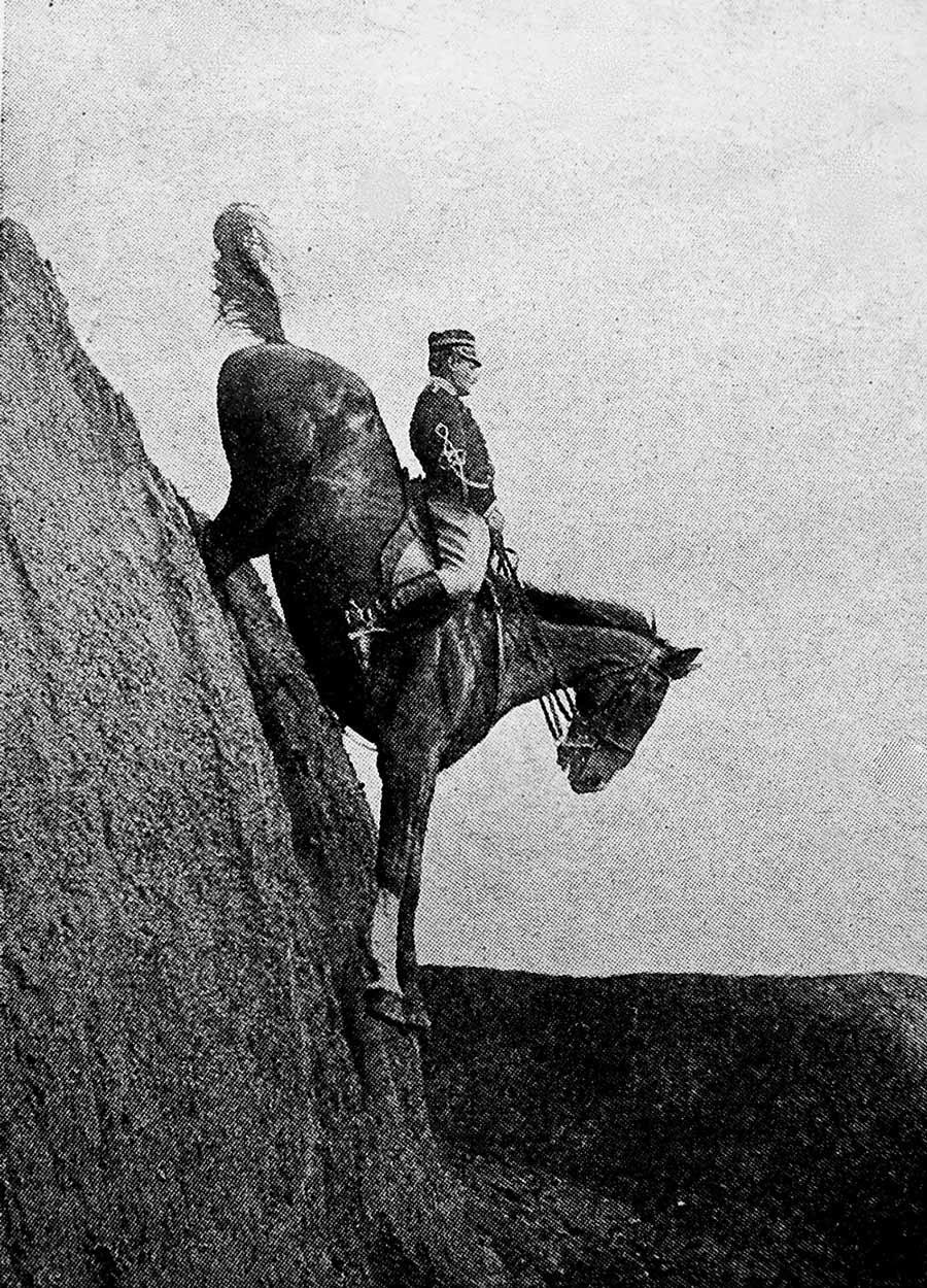 Итальянское кавалерийское училище, 1906