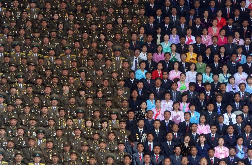 Празднование 100-летия со дня рождения Ким Ир Сена, основателя Северной Кореи
