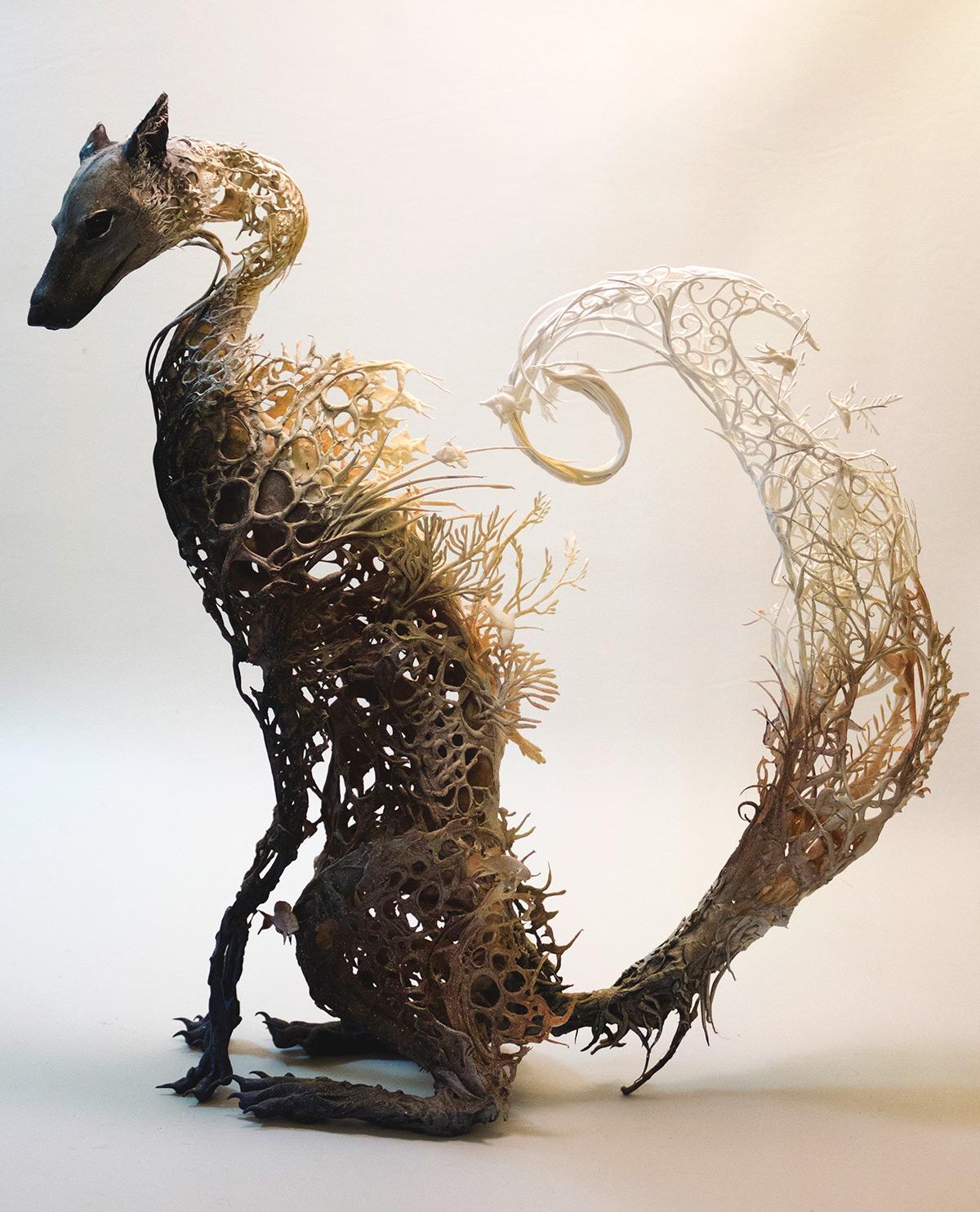 Сюрреалистичные скульптуры от Элен Джеветт