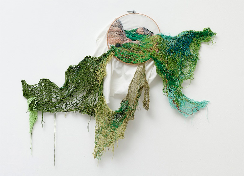 Вышивка и пряжа от Аны Терезы Барбосы