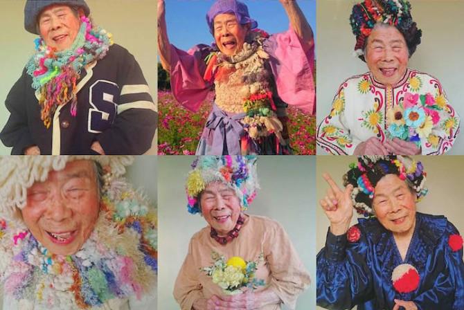 Очаровательная 93-летняя женщина стала моделью для своей внучки-дизайнера