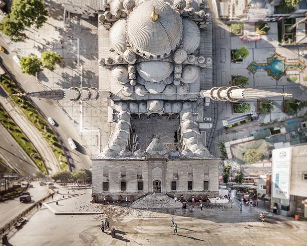 Фотограф перевернул Турцию с ног на голову, чтобы получить сюрреалистические городские пейзажи