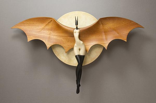 Изящные сюрреалистические скульптуры от Джона Морриса