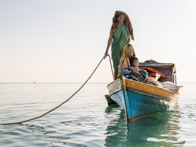 Живописные портреты исчезающих морских цыган
