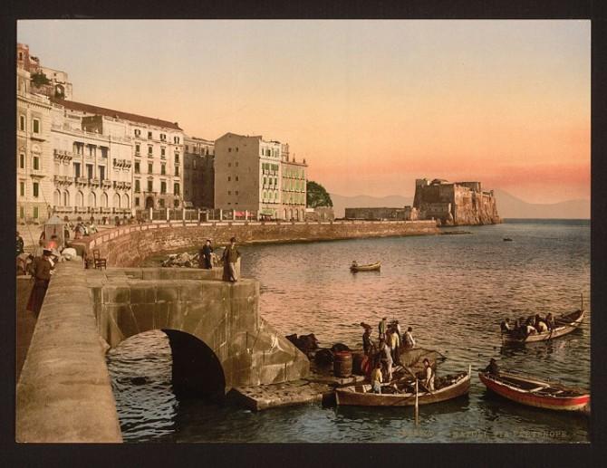 Редкие фотографии Неаполя прошлого века
