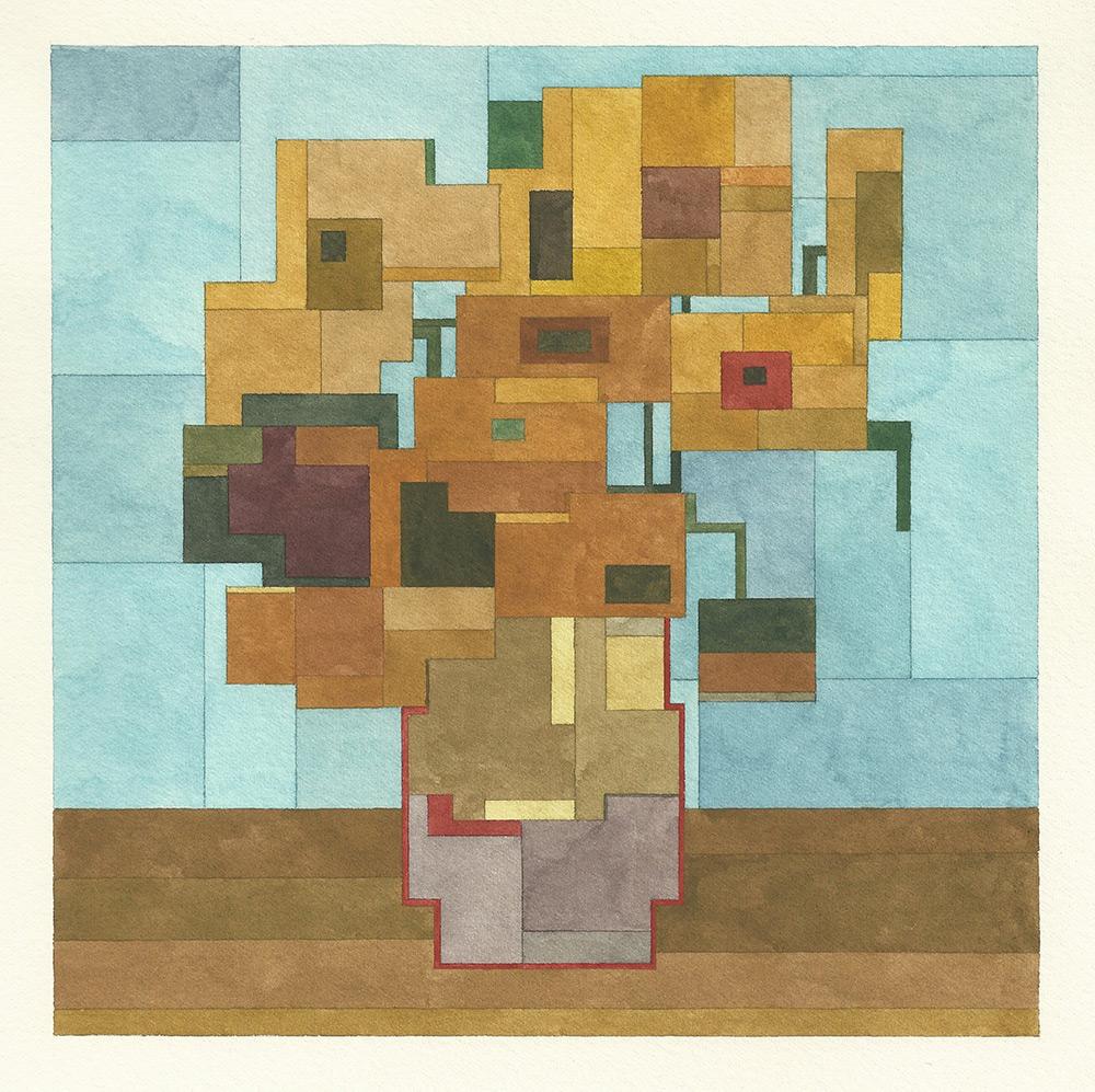Винсент Ван Гог - «Подсолнухи»