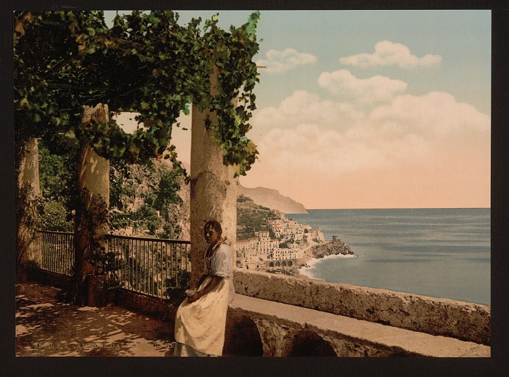 Фотографии Неаполя прошлого века