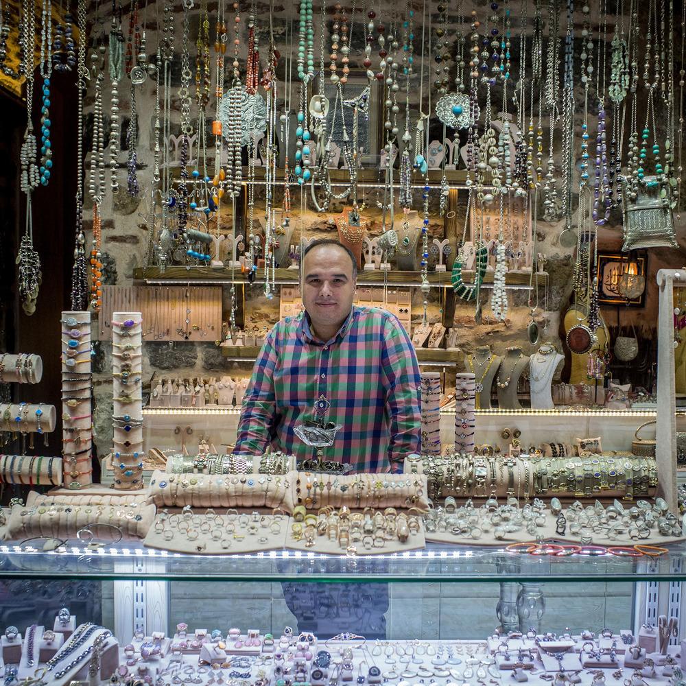 Гранд-базар - крупнейший крытый рынок в мире