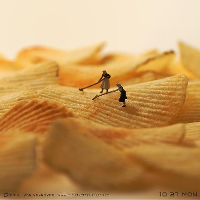 Миниатюры от художника Тацуя Танака