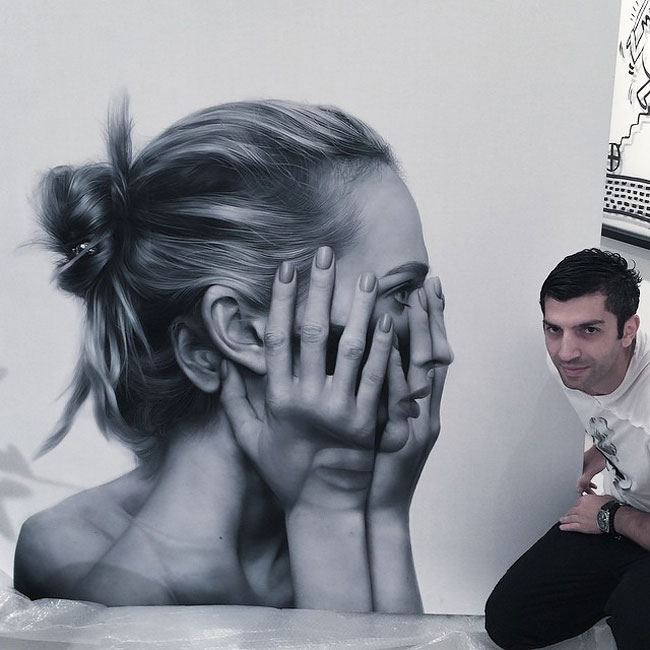 гиперреалистичные картины, гиперреализм, Тигран Тситогзян