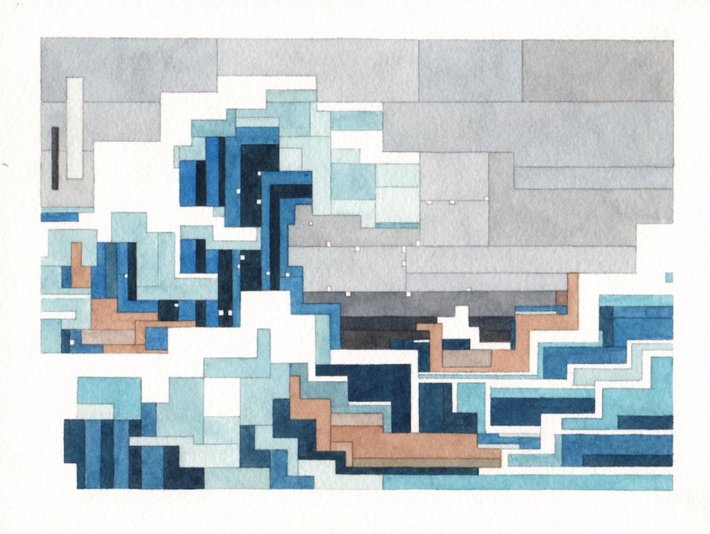 Кацусика Хокусай - «Большая волна в Канагаве»