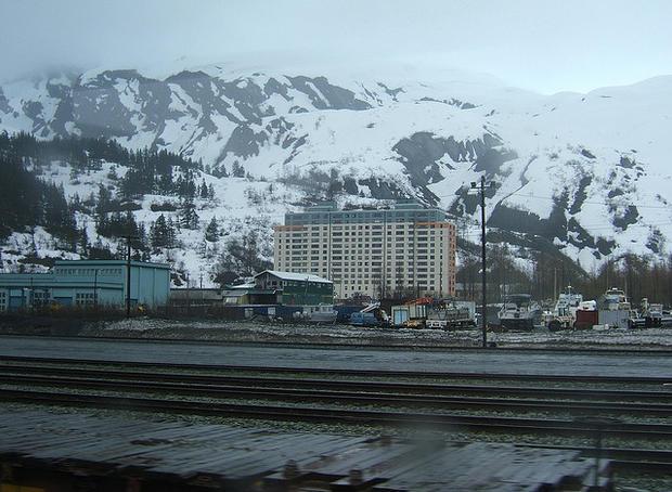 Уиттиер, Аляска // Whittier, Alaska
