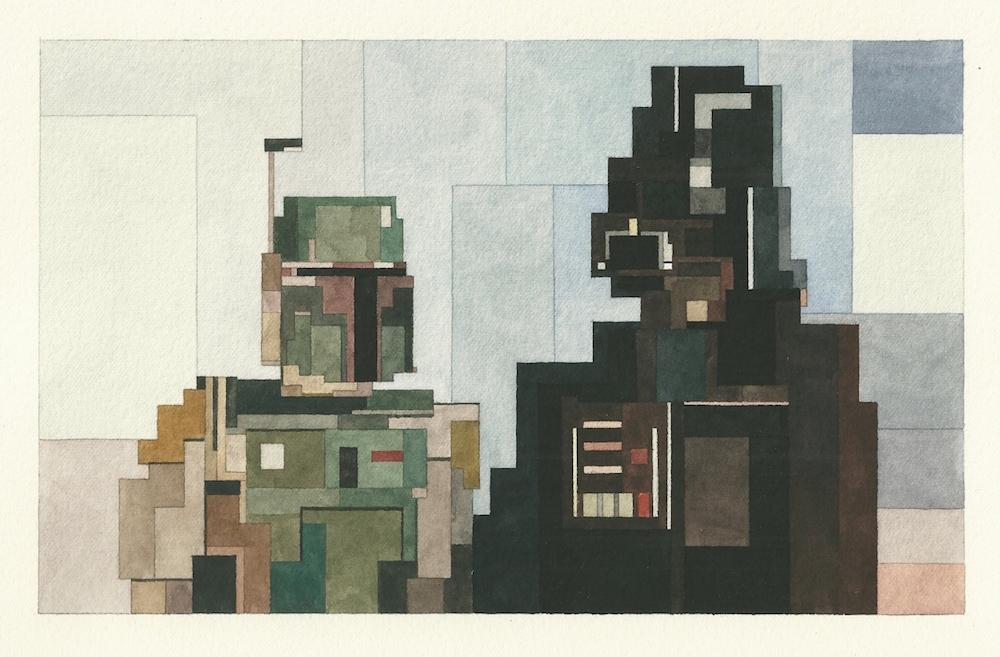 Акварельная живопись от Адама Листера