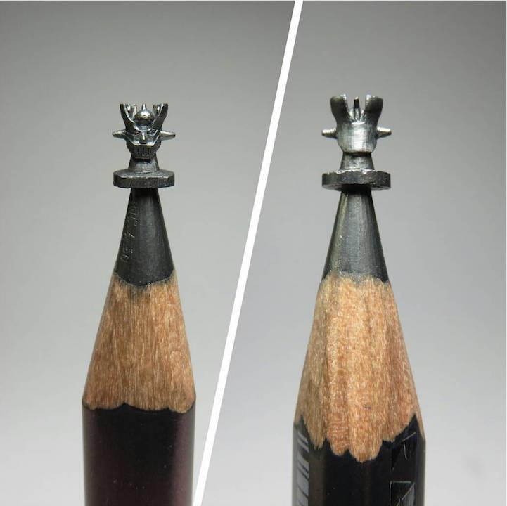 Миниатюрные скульптуры от Чена Чу Ли