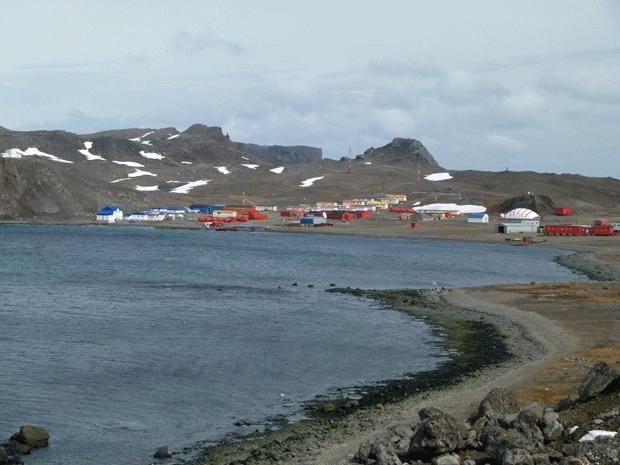 Город звёзд, Антарктика // Villa Las Estrellas, Antarctica