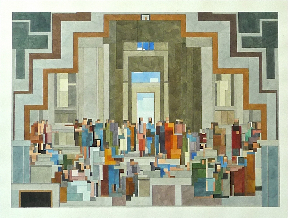 «Афинская школа»-фреска работы Рафаэля в Cтанце делла Сеньятура Ватиканского дворца