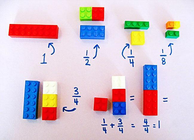 Как развить математические навыки ребенка с LEGO