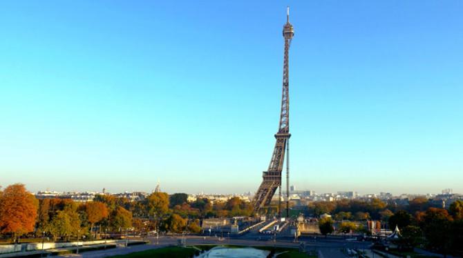 Как Париж выглядел бы, будь он одной большой съёмочной площадкой