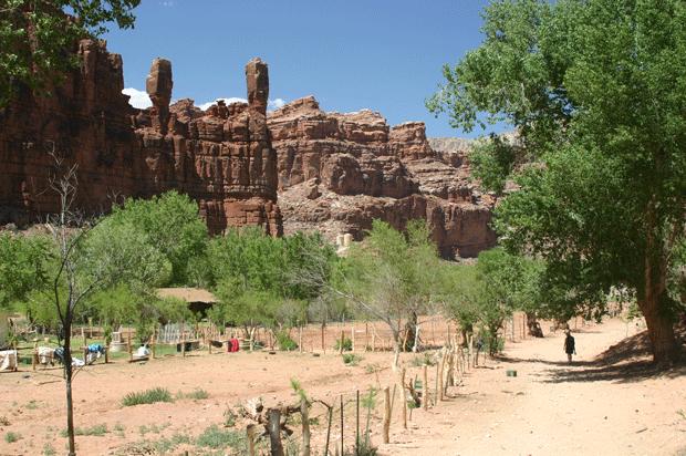 Деревня Супай, Аризона, США // Supai Village, Arizona, USA