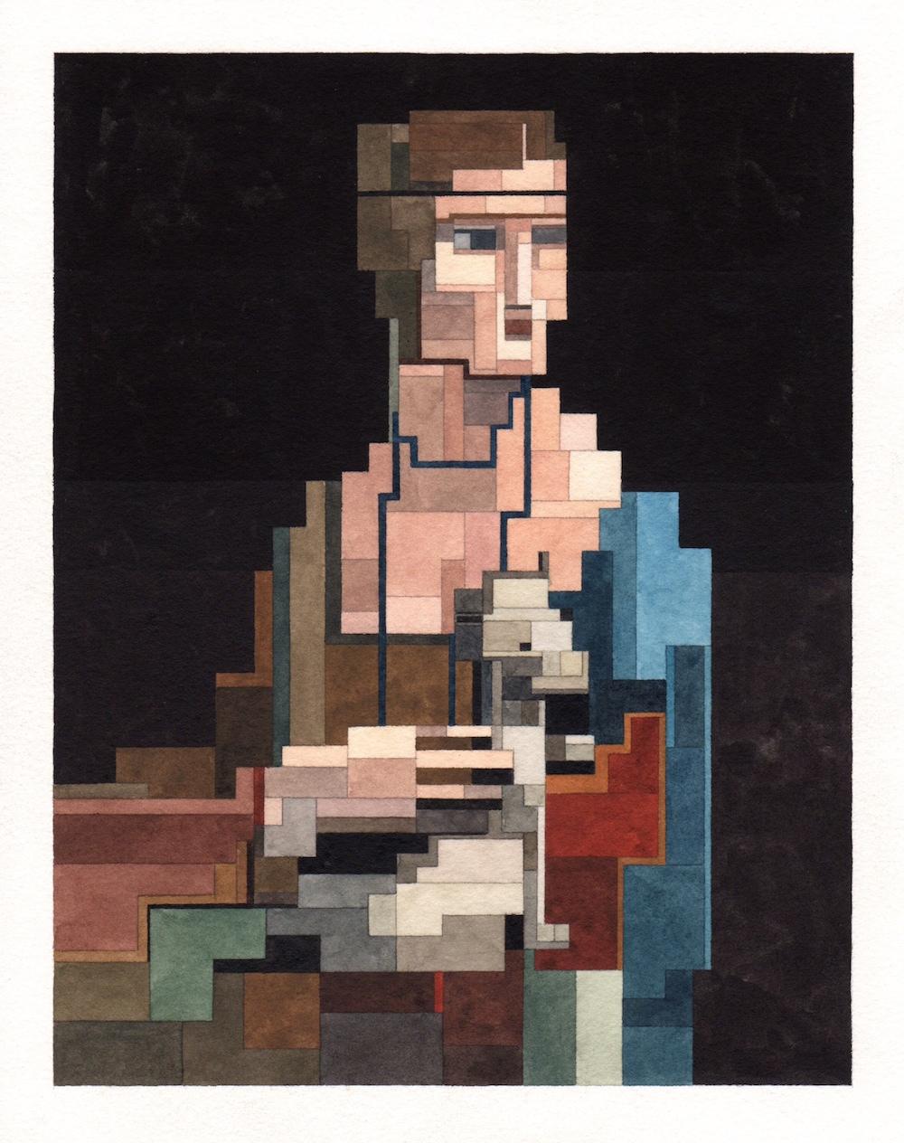 Леонардо да Винчи - «Дама с горностаем»