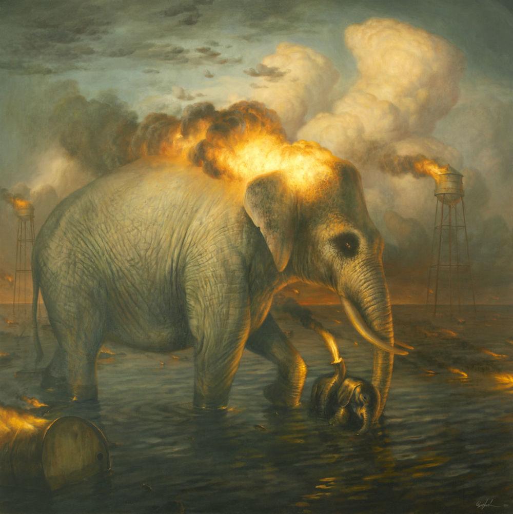 Картины животных от Мартина Виттфута