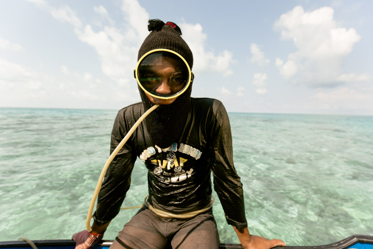 Портреты морских цыган от Марка Лена