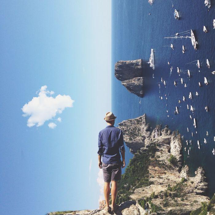 Сюрреалистические миры от Чарли Даволи