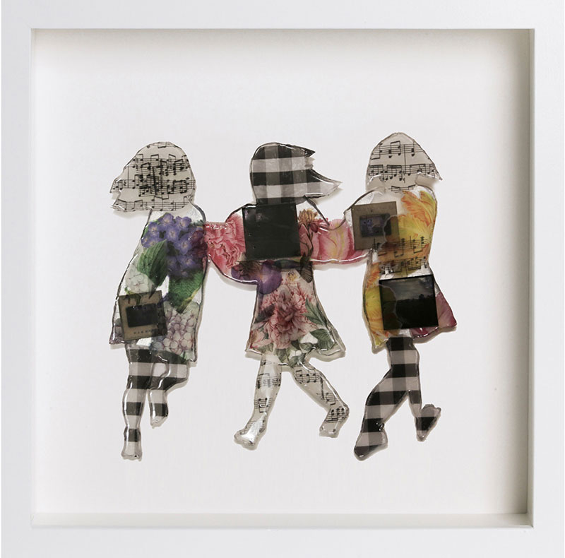 Картины из смолы от Люси Боннин