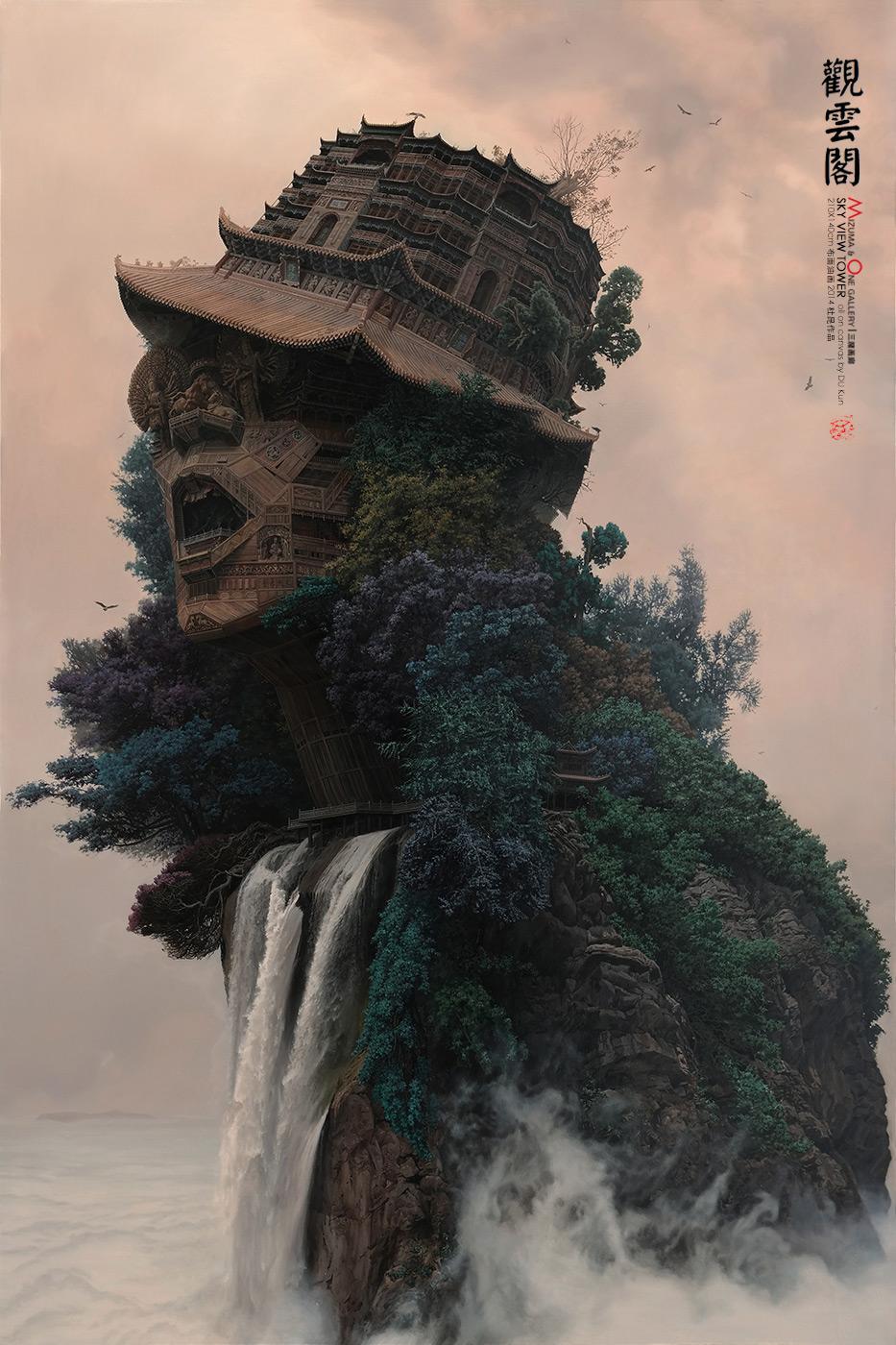 Храмы в виде китайских рок-звёзд от Ду Куна