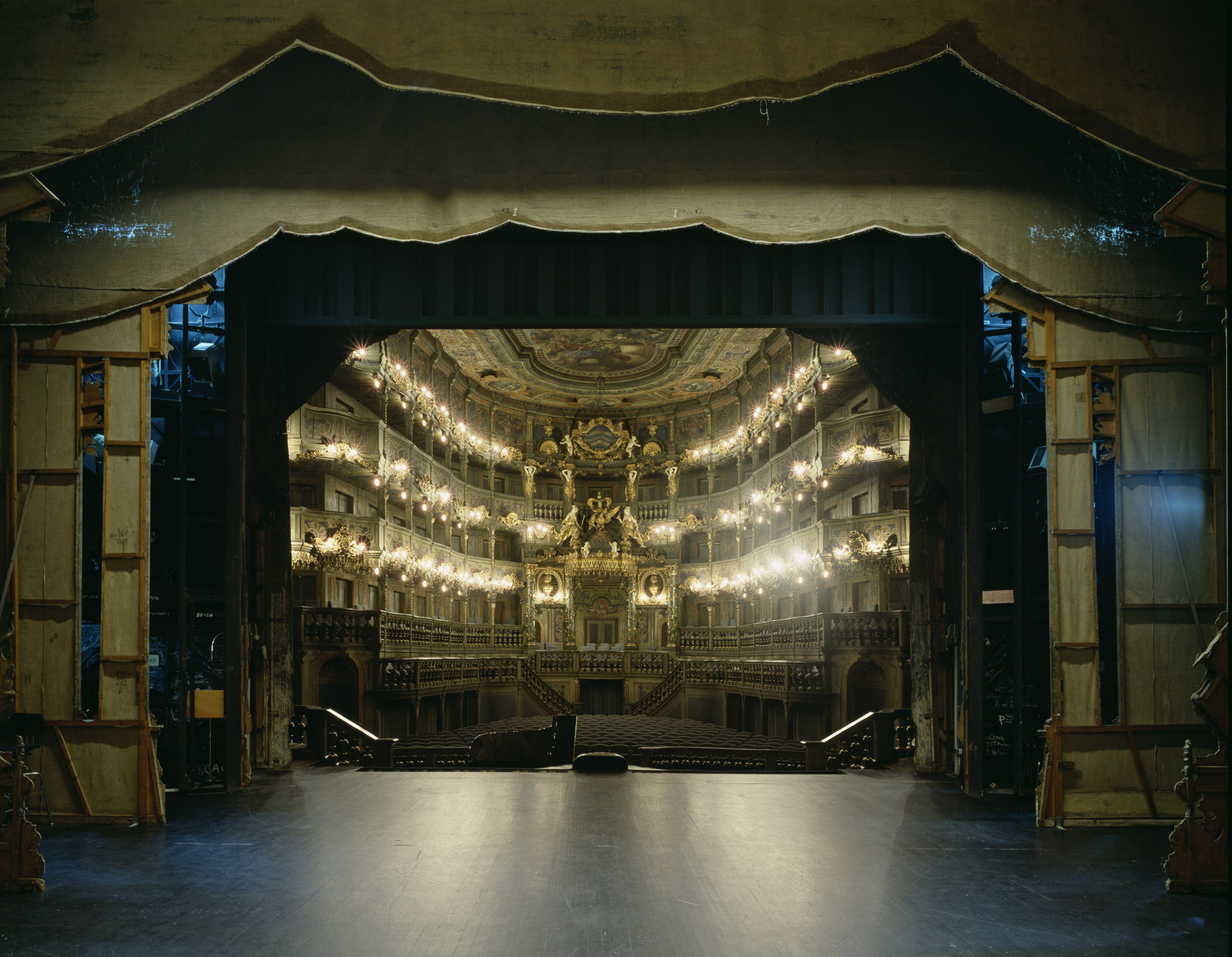 Маркграфский оперный театр (Margravial Opera House), Байройт