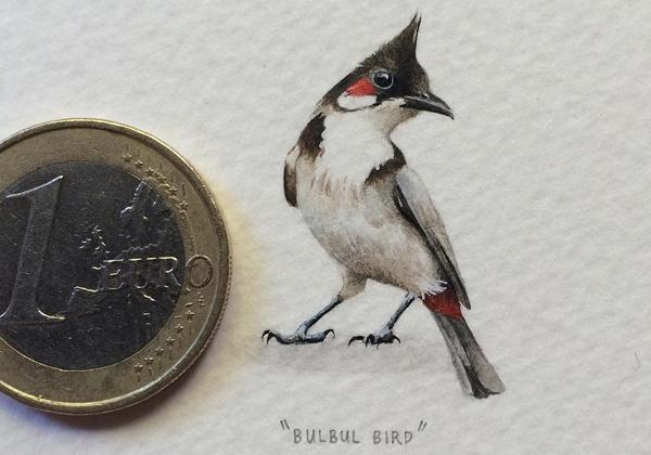 Удивительная миниатюрная живопись от Лорейн Лутс