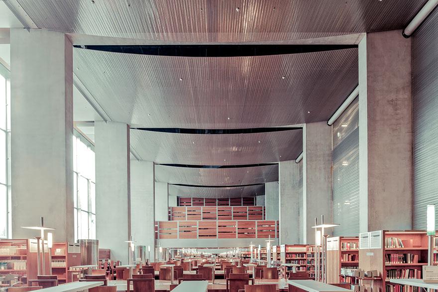 Национальной библиотеки ФранцииимениФрансуа Миттерана, Париж
