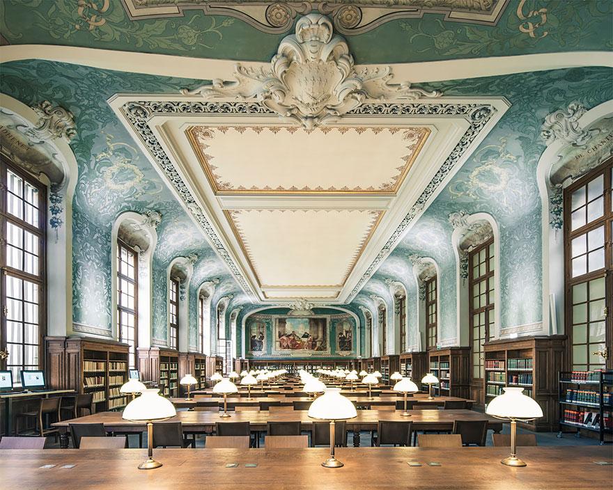Межвузовская библиотека Сорбонны, Париж