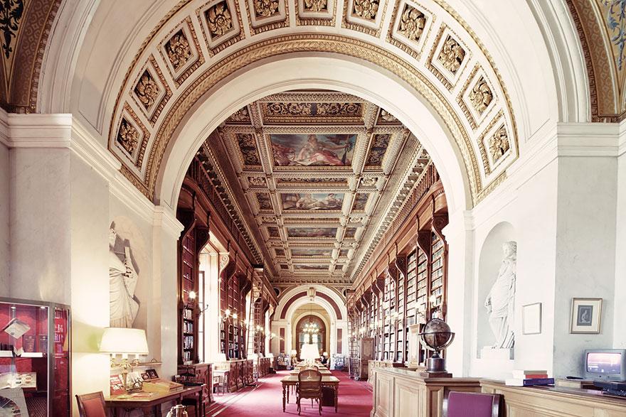 Сенатская библиотека,Париж