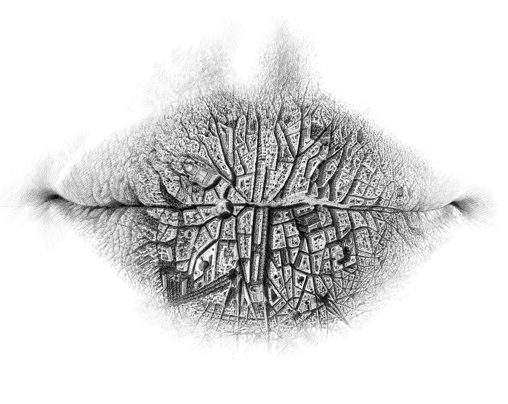Скрытые миры на губах от Кристо Дагорова