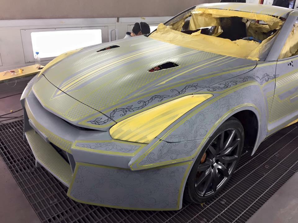 Процесс создания гравировки автомобилей
