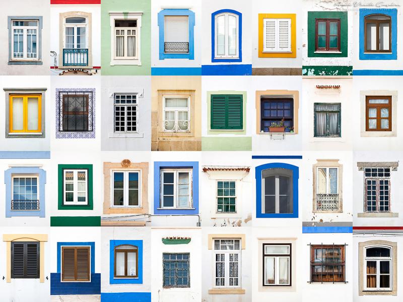 Окна из разных городов мира