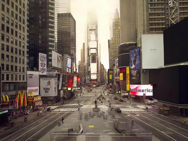 Город без людей