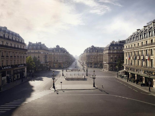 Площадь Оперы,Париж