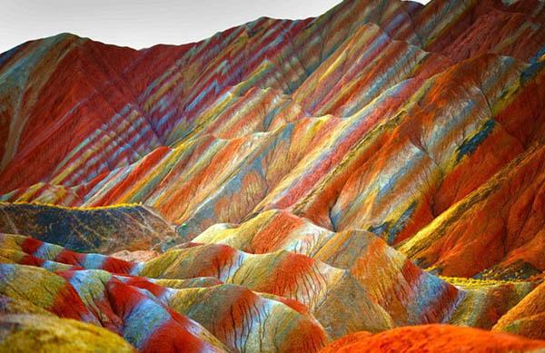 Национальный геопарк Чжанъе Данься, Китай