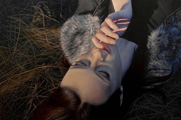 Художница выражает собственные эмоции посредством гиперреалистичной живописи
