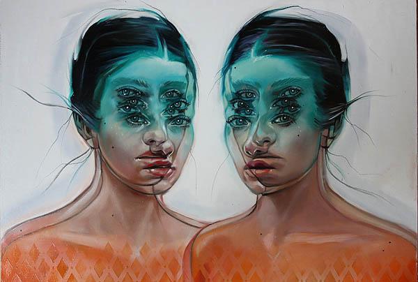 Картины Алекс Гарант способны сломать ваш мозг